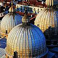 Saint Mark's Domes by Jillian Barrile