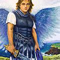 Saint Michael The Archangel by Patty Kay Hall