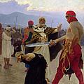 Saint Nicholas Of Myra Saves Three Innocents From Death by Ilya Efimovich Repin