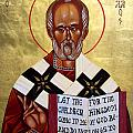 Saint Nicholas The Wonder Worker by Joseph Malham
