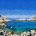 Saint Paul Bay by George Atsametakis