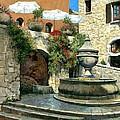 Saint Paul De Vence Fountain by Michael Swanson