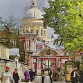 Saint Petersburg Saint Alexander Cathedral by Yury Malkov