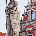 Saint Roland I Riga Old Town by Sophie McAulay