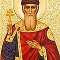 Saint Vladimir by Munir Alawi