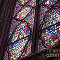 Sainte-chapelle Window by Ann Horn