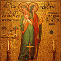 Saints Perpetua And Felicitas Altar by Philip Ralley