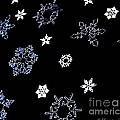 Saks 5th Avenue Snowflakes by Living Color Photography Lorraine Lynch