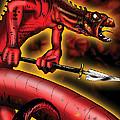 Salamander by James Kramer