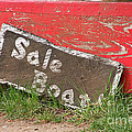 Sale Boat by Art Block Collections