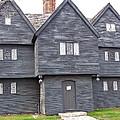 Salem Witch House by Susan Wyman