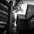 Salem's Witch House by Stephen Stookey