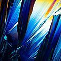 Salicylic Acid Crystals In Polarized Light by Stephan Pietzko