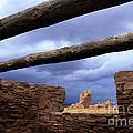 Salinas Pueblo Mission Abo Ruins 5 by Bob Christopher