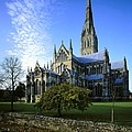Salisbury Cathedral. 1220-1258. United by Everett