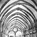 Salisbury Cathedral Cloisters by Linsey Williams