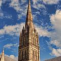 Salisbury Cathedral by Oscar Alvarez Jr