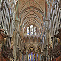Salisbury Cathedral Quire And High Altar by Terri Waters