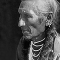 Salish Indian  circa 1910 by Aged Pixel