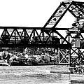 Salmon Bay Bridge by Benjamin Yeager
