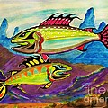 Salmon Of Colour by Al Fritz