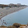 Salobrena Beach by Phil Banks