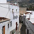 Salobrena Street - Spain by Phil Banks