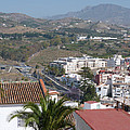 Salobrena Town View by Phil Banks