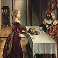 Salome by Juan de Flandes