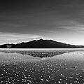 Salt Cloud Reflection Black And White by For Ninety One Days