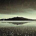 Salt Cloud Reflection Black And White Vintage by For Ninety One Days