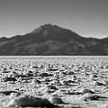 Salt Flat Surface Black And White by For Ninety One Days