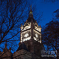 Salt Lake City And County Building At Night by Gary Whitton