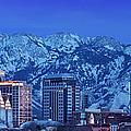 Salt Lake City Skyline by Brian Jannsen