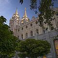 Salt Lake City Temple by Dustin  LeFevre