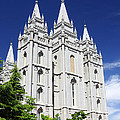 Salt Lake Mormon Temple by Charline Xia