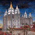 Salt Lake Temple by Jeff Brimley