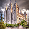 Salt Lake Temple by Niels Nielsen