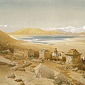 Salt Lake - Thibet, From India Ancient by William 'Crimea' Simpson