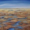 Salt Marsh In Summer by Lorraine Centrella