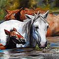Salt River Foal by Karen Kennedy Chatham