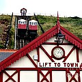 Saltburn Lift To Town by Scott Lyons