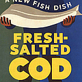 Salted-cod 1940s Uk Fish Salted Cod by The Advertising Archives