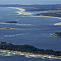 Salter, Stage And Pond Islands At The by Dave Cleaveland