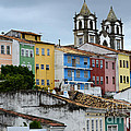 Salvador Brazil The Magic Of Color by Bob Christopher