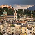 Salzburg After The Storm by Jaroslav Frank