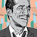 Sammy Davis Jr Pop Art by Jim Zahniser