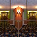 Sample Paneled Hallway Mirrored Image by Thomas Woolworth