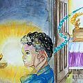 Samuel Hears The Lord by Anne Cameron Cutri