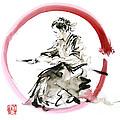 Samurai Enso Bushido Way. by Mariusz Szmerdt